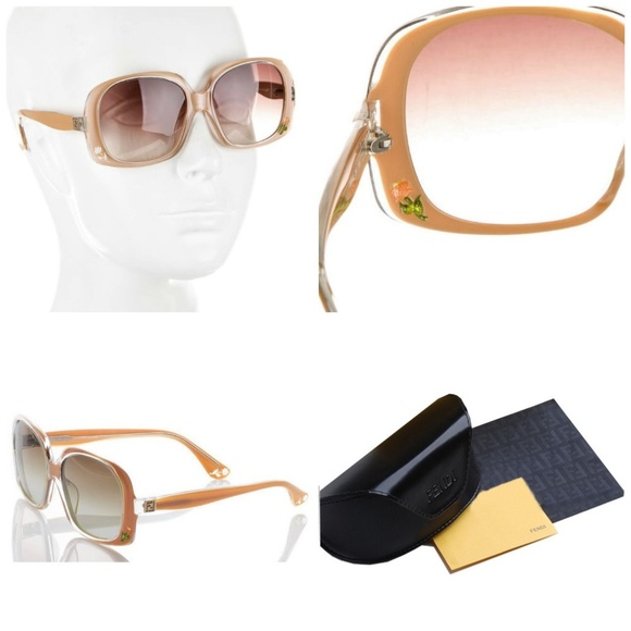 bb7b7c74c68a  495 New Authentic Fendi Sunglasses With Case